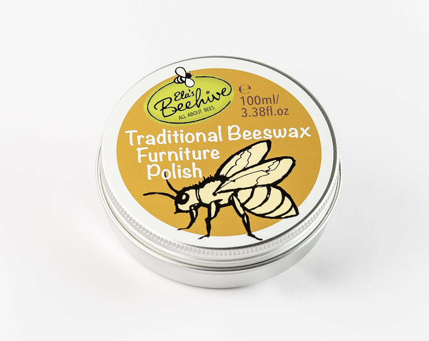 Traditional Beeswax Furniture Polish